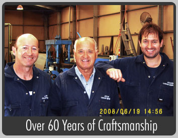 Over 60 Years of Craftsmanship